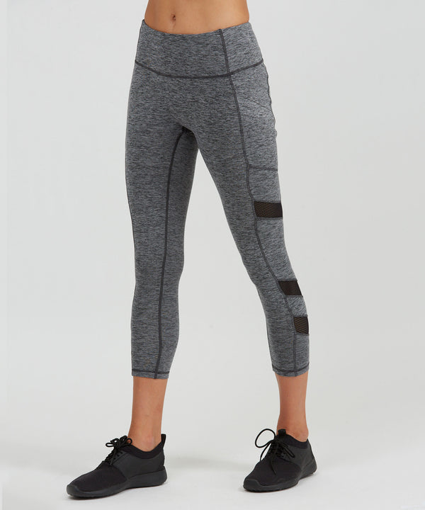 Relay 7/8 Legging -Storm Storm Heather Relay 7/8 Legging - Women's Yoga Legging by PRISMSPORT