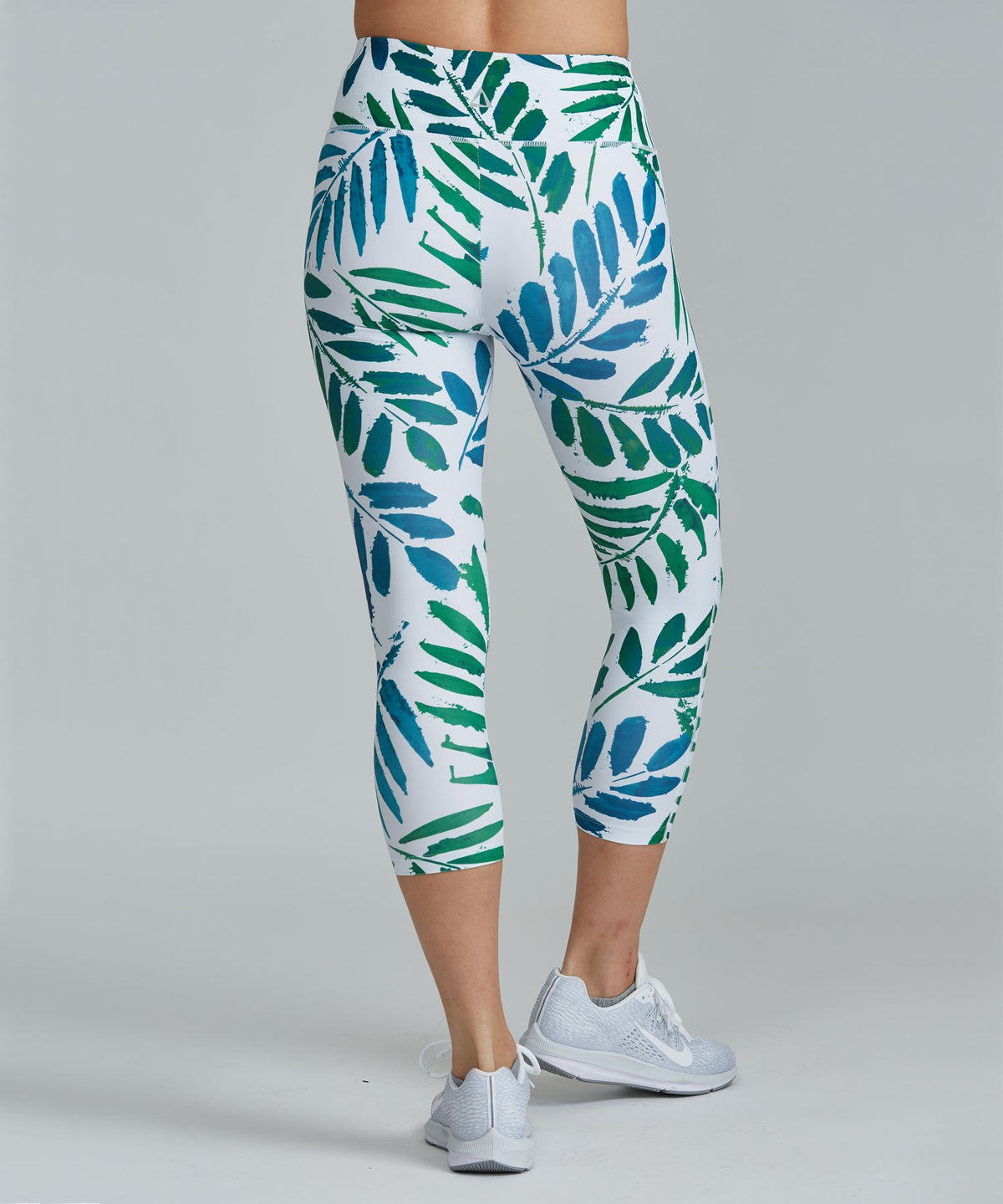 Capri Legging - Ferns Ferns Capri Legging - Women's Yoga Legging by PRISMSPORT