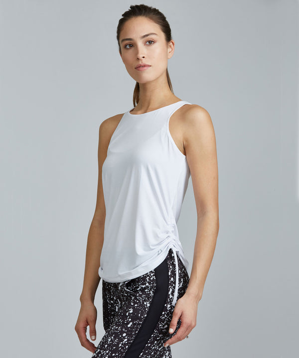 Grace Top - White White Grace Top - Women's Activewear Tank Top by PRISMSPORT