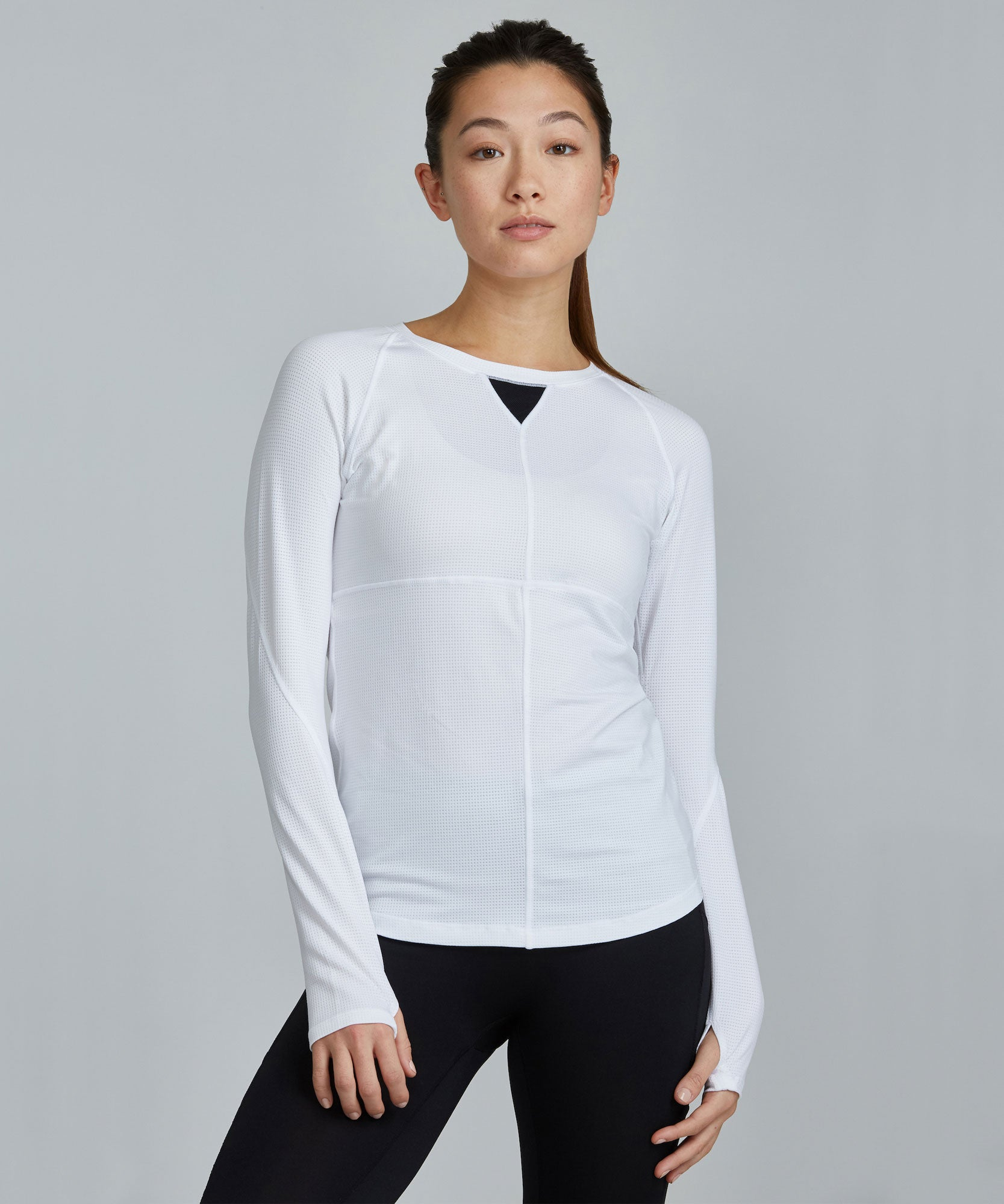 Run Top - White
