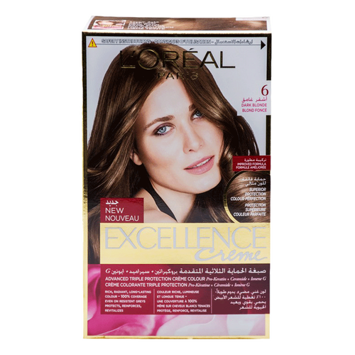 L'ORÉAL Paris Excellence Creme 6 Dark Blonde - zapple.pk