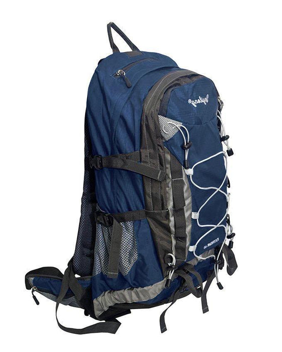 Outdoor Pro Sport Casual Travel Leisure Backpack With Rain Cover - Dark Blue - zapple.pk