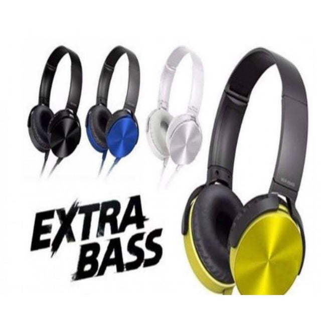 High Quality Extra Bass Headphones - zapple.pk
