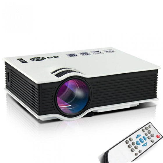 LCD HDMI Home Theater Projector UC40 PLUS - zapple.pk