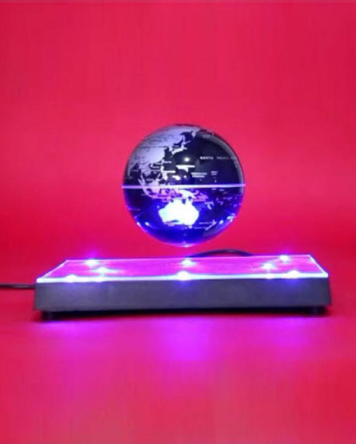 Magnetic Levitated Earth Globe (Square/Mirror Base)