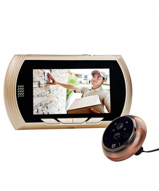 "4.3""HD Screen Smart Digital Door Viewer with IR Night Vision NO Disturb Function"