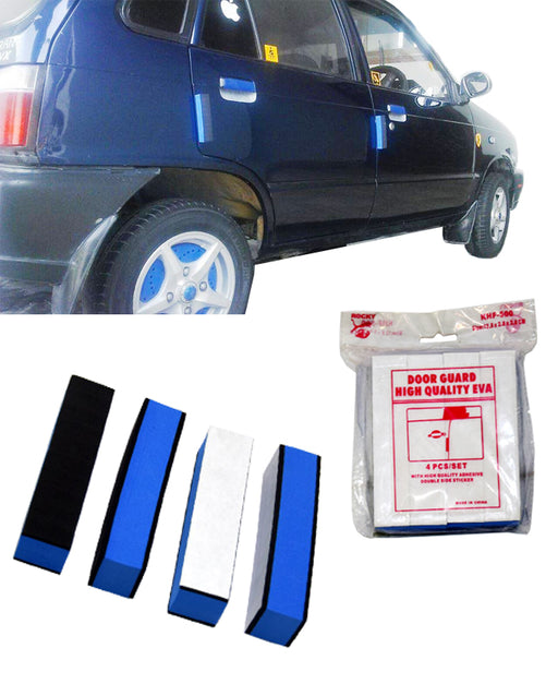 Pack Of 4 Piece Door Edge Guards For All Cars