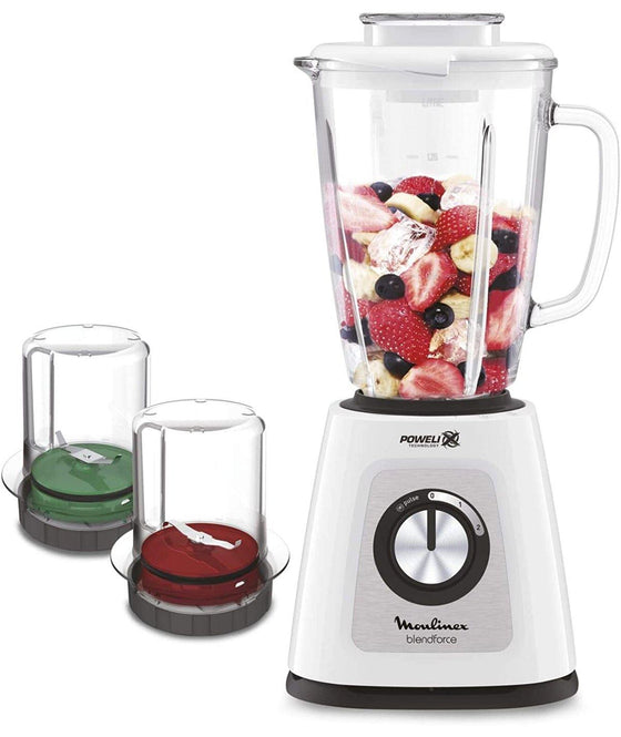 MOULINEX BLENDER WITH GRINDER - LM438125 - zapple.pk