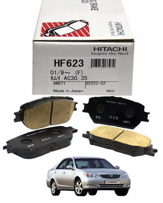 Toyota Camry ACV30 2001 to 2006 - Disc Brake Pads Front - zapple.pk