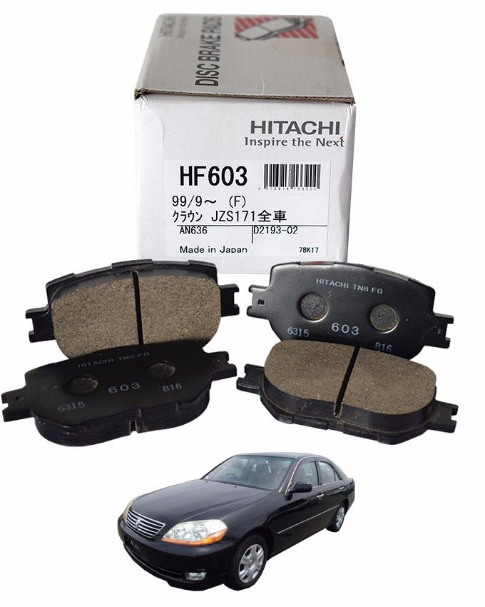 Toyota Mark 2 Grande 2000 to 2005 - Disc Brake Pads Front
