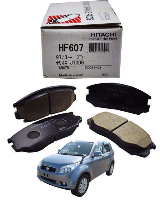 Toyota Rush 2006 to 2013 - Disc Brake Pads Front - zapple.pk