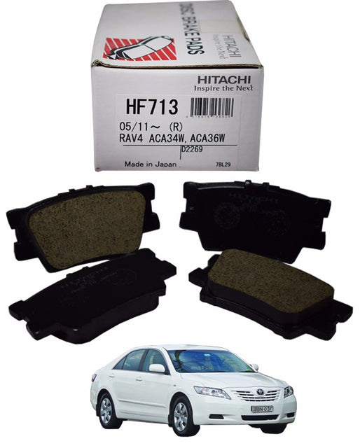 Toyota Camry ACV40 2006 to 2009 - Disc Brake Pads Rear - zapple.pk
