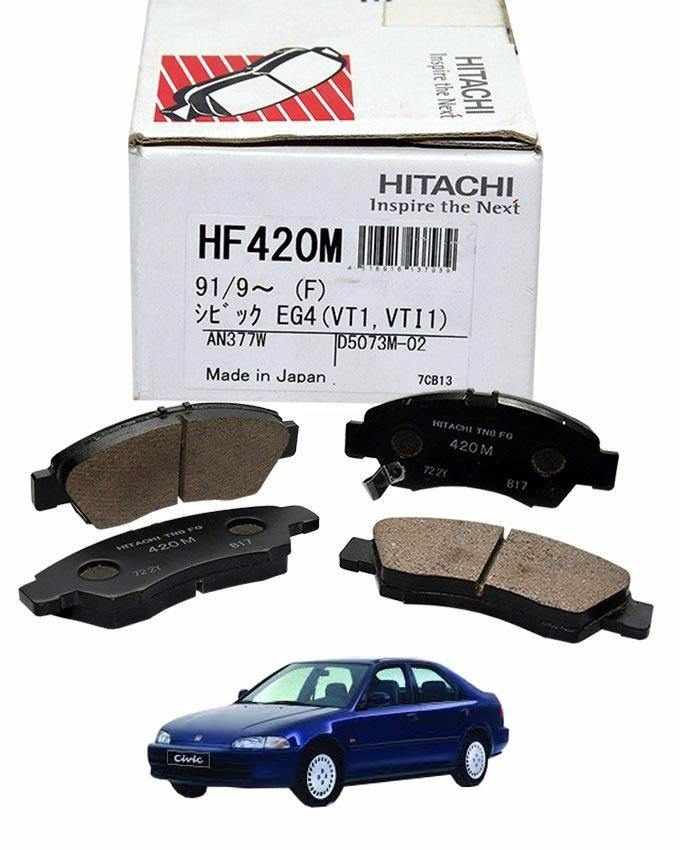 Honda Civic 1996 To 2000 - Disc Brake Pads Front - HF420M-CIVIV96-00FRONT