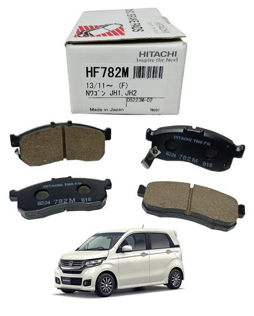 Honda N Wagon ALL Models - Disc Brake Pads Front - zapple.pk