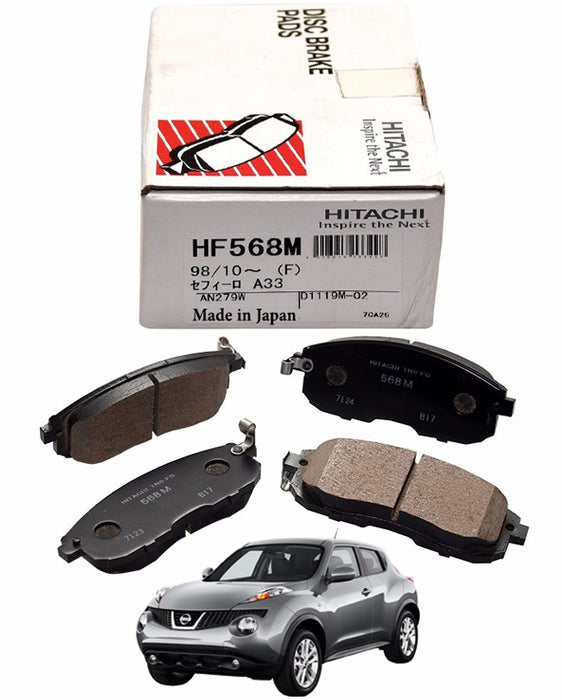 Nissan Juke 2011 To 2018 - Disc Brake Pads Front
