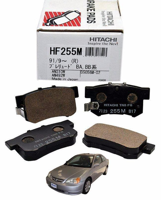Honda Civic CF1-CF4 2001 to 2005 - Disc Brake Pads Rear - zapple.pk