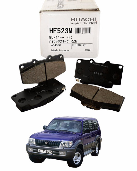 Toyota Prado Automatic 1996 to 2001 - Disc Brake Pads Front - zapple.pk