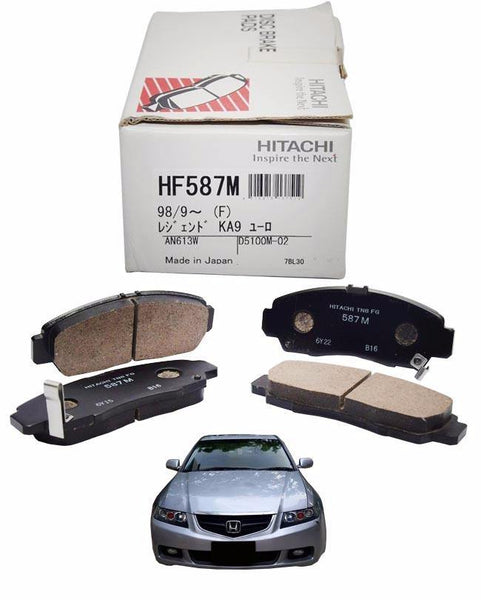 Honda Accord CL7-CL9 2002 to 2009 - Disc Brake Pads Front - zapple.pk