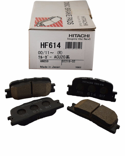 Toyota Camry ACV30 2001 to 2006 - Disc Brake Pads Rear