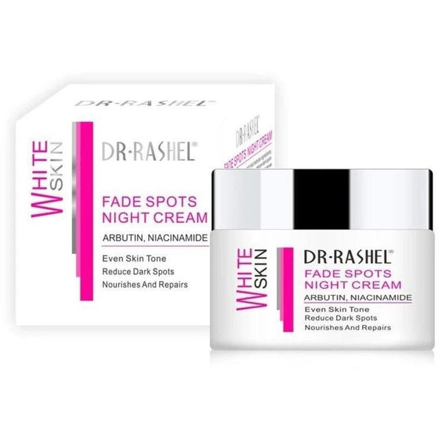 Dr.Rashel White Skin Fade Spots Night Cream - zapple.pk