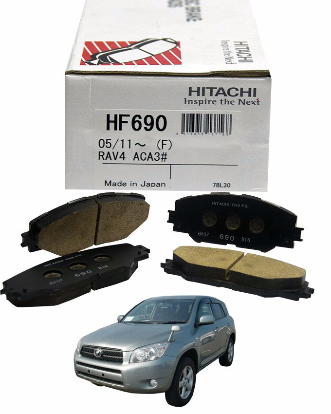 Toyota Rav4 ACA36 2005 to 2012 - Disc Brake Pads Front