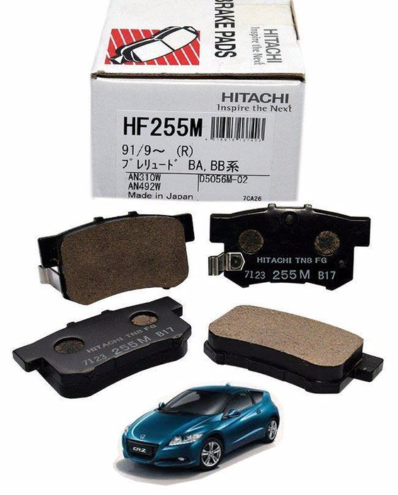 Honda Civic CR-Z 2010 to 2014 - Disc Brake Pads Rear