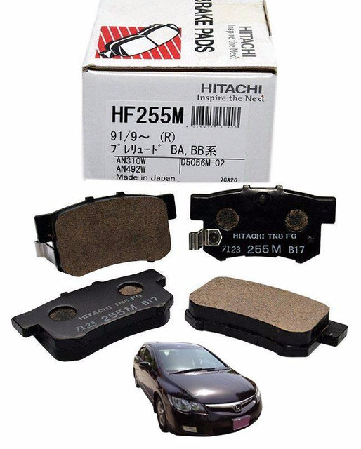 Honda Civic Reborn 2006 to 2011 - Disc Brake Pads Rear - zapple.pk