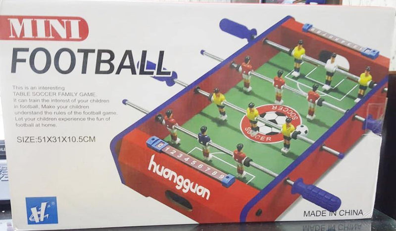 Mini football soccer table indoor sports game board game - zapple.pk