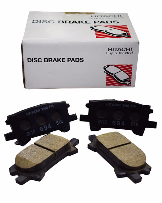 Toyota harrier MCU30 2003 to 2006 - Disc Brake Pads Rear