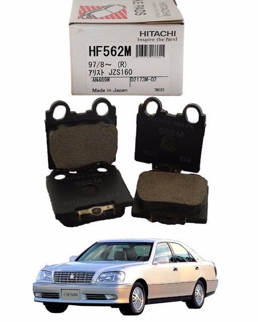 Toyota Crown 1999 to 2007 - Disc Brake Pads Rear