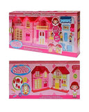 Home Sweet Happy Family Doll House For Kids - zapple.pk