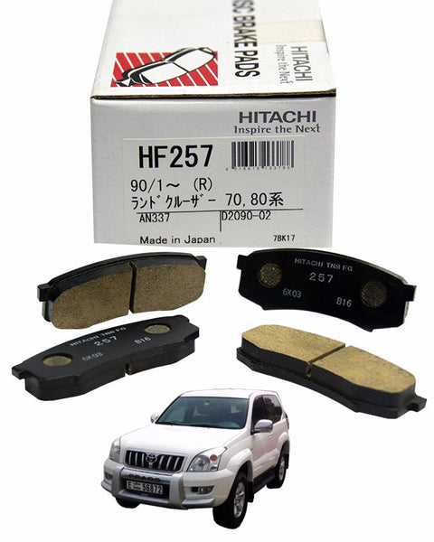 Toyota Harrier MCU15 3000CC 1997 to 2003 - Disc Brake Pads Rear - zapple.pk
