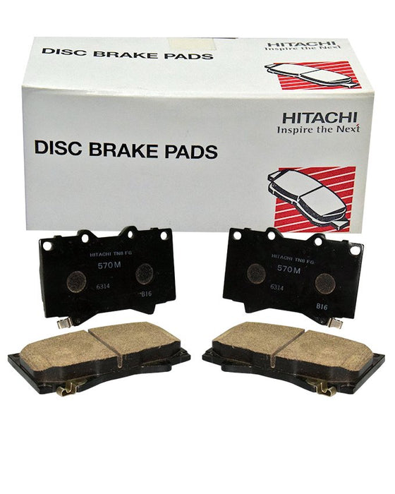 Toyota Grand Cruiser HDJ100 1998 to 2007 - Disc Brake Pads Front