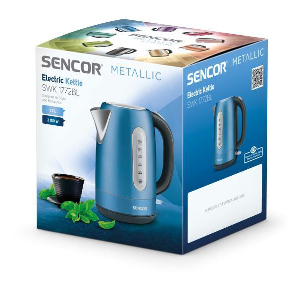 Sencor Stainless Electric Kettle - SWK1772BL