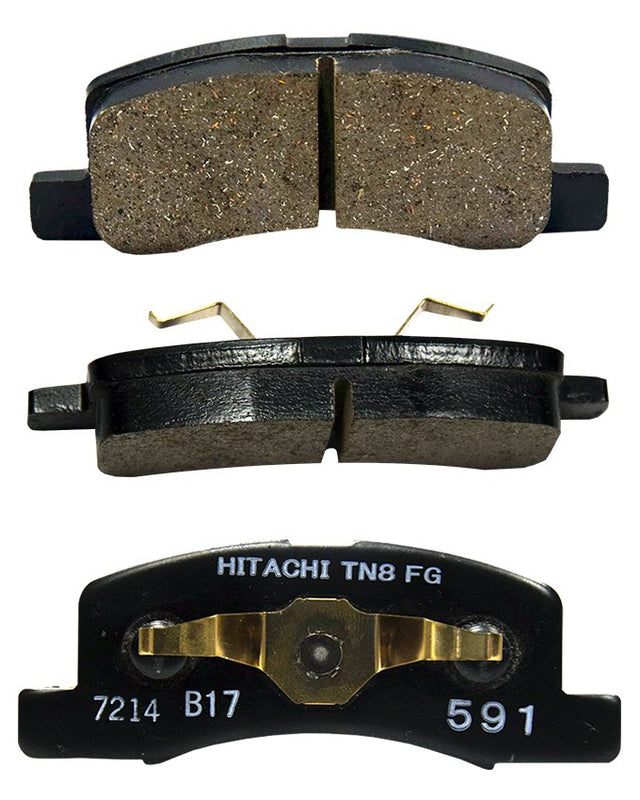 Mitsubishi EK Wagon 2008 to 2014 - Disc Brake Pads Front - zapple.pk