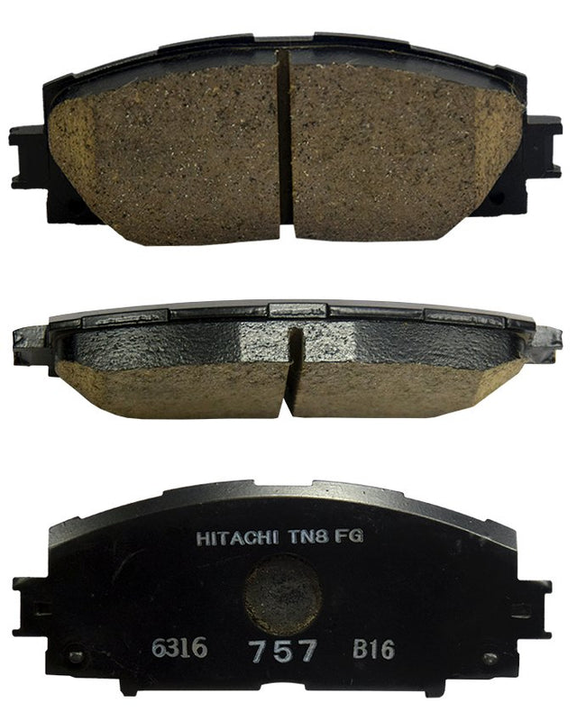 Toyota Prius 1800 cc 2009 to 2016 - Disc Brake Pads Front - zapple.pk