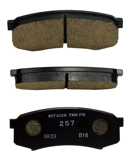 Toyota Prado 2003 to 2007 - Disc Brake Pads Rear