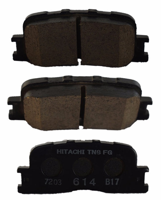 Toyota Camry ACV30 2001 to 2006 - Disc Brake Pads Rear - zapple.pk