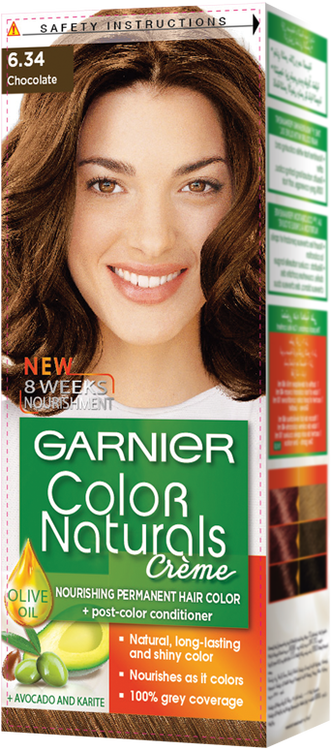 Garnier Color Naturals 6.34 Chocolate - zapple.pk