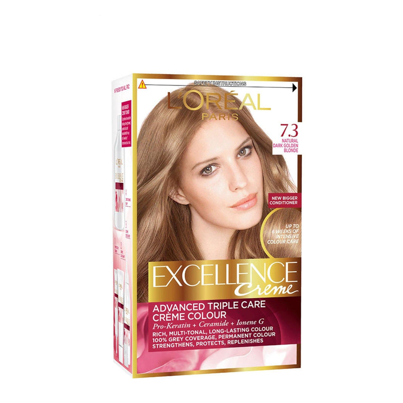 L'ORÉAL Paris Excellence Creme 7.3 Dark Golden Blonde - zapple.pk