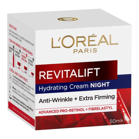 L'ORÉAL Paris Revitalift Moisturizing Night Cream 50ml - zapple.pk