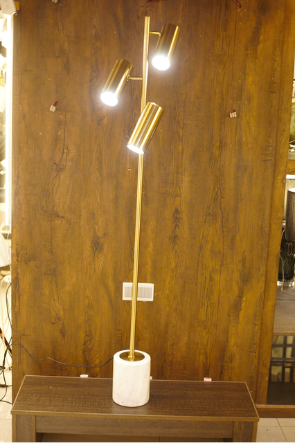 Contemporary Bronze Built in LED Focused Floor Lamp - FL09 - zapple.pk