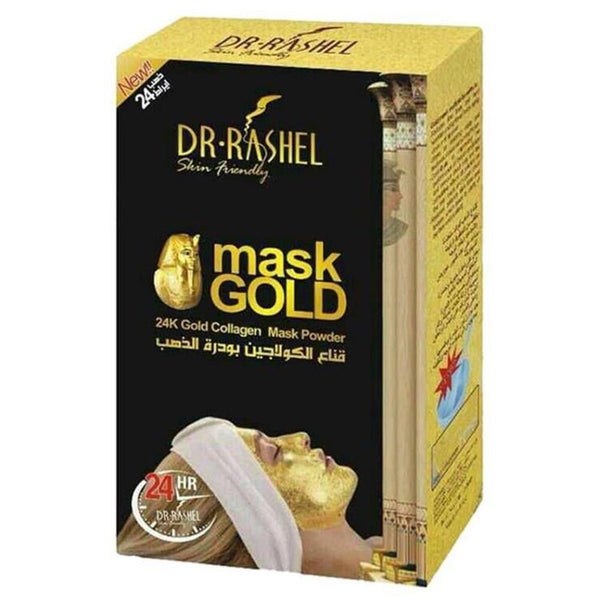 Dr.Rashel 24K Gold Collagen Mask Powder - zapple.pk