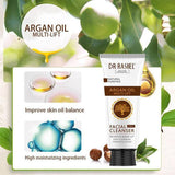 Dr.Rashel Argan Oil Multi Lift Facial Cleanser 3 in 1 Remove Make up | Deep Cleansing | Firming & Lifting - zapple.pk