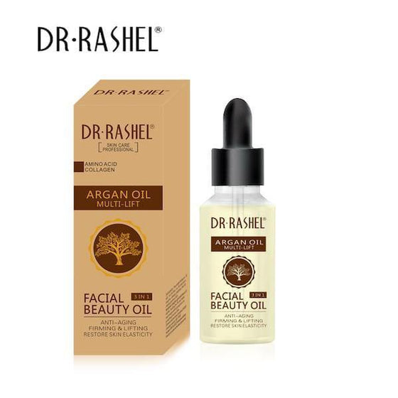 Dr.Rashel Argan Oil Multi Lift Facial Beauty Oil 3 in 1 - zapple.pk