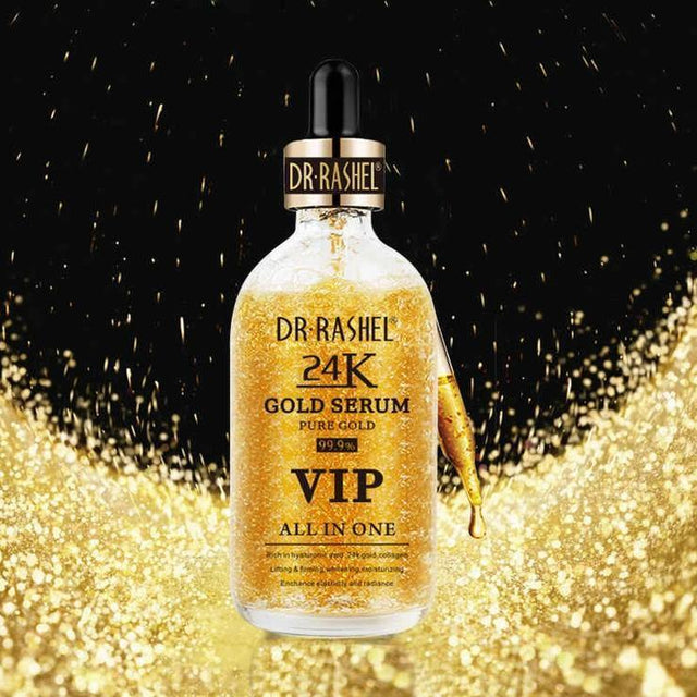 Dr.Rashel 24K Gold Serum VIP All In One Pure Gold - zapple.pk