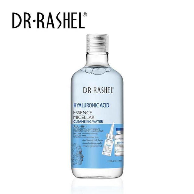 Dr.Rashel Hyaluronic Acid Essence Micellar Cleansing Water All in 1 - zapple.pk
