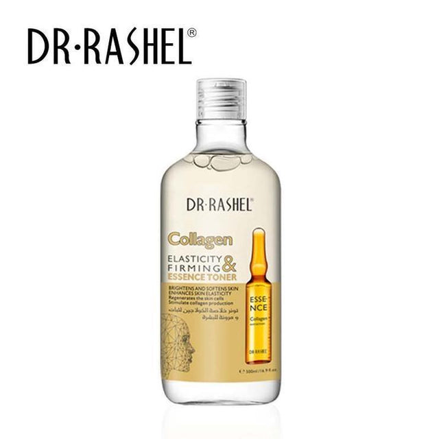 Dr.Rashel Collagen Elasticity & Firming Essence Toner + Cleansing Water - zapple.pk