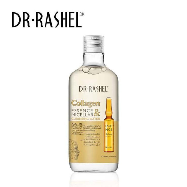 Dr.Rashel Collagen Essence & Micellar Cleansing Water All in 1 - zapple.pk