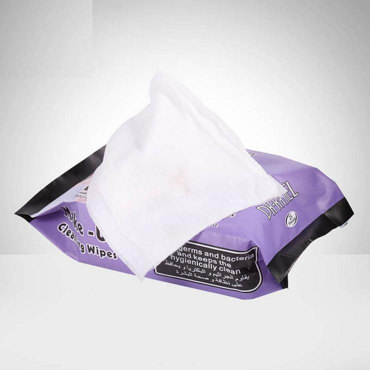 Dr.Rashel Collagen Make up Cleansing, Antiseptic & Anti Bacterial Wipes with Lavender Extract - zapple.pk
